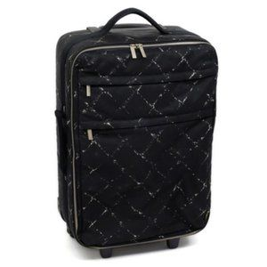 Chanel New Line Rolling Trolley Luggage Suitcase